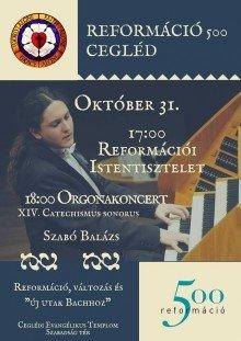 Szabó Balázs- Bach orgonakoncert