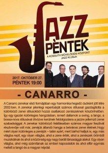 JazzPéntek - Canarro koncert