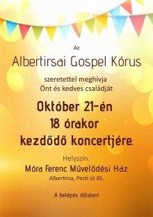 Albertirsai Gospel Kórus Koncertje