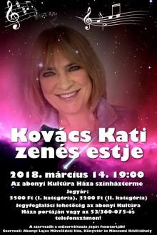 Kovács Kati zenés est