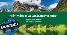 Bakancslista: Hátizsákkal az Altáj-hegységben