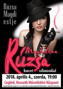 Magdaléna Rúzsa - Rúzsa Magdi estje