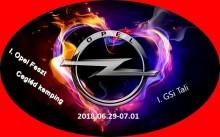 I. Opel Feszt és I. GSI találkozó