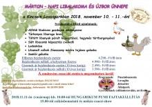 Márton-napi Libalakoma és Újbor ünnepe