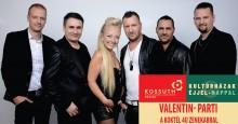 Valentin- PARTI a Koktél 4u zenekarral